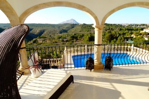 5 bed villa for sale in Javea with panoramic ...